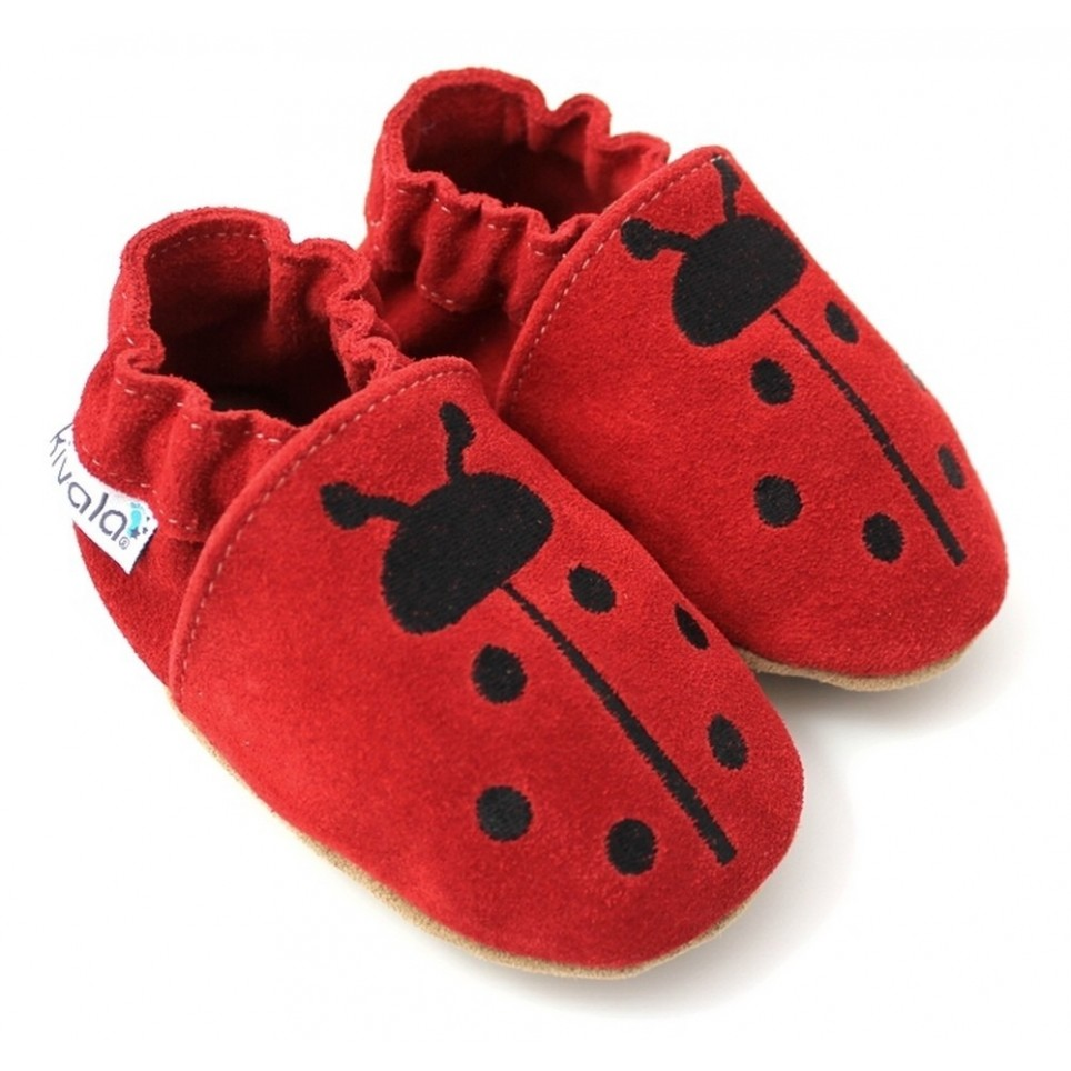 Chaussons cuir souple Coccinelle - Chaussons Kivala af2253483ad